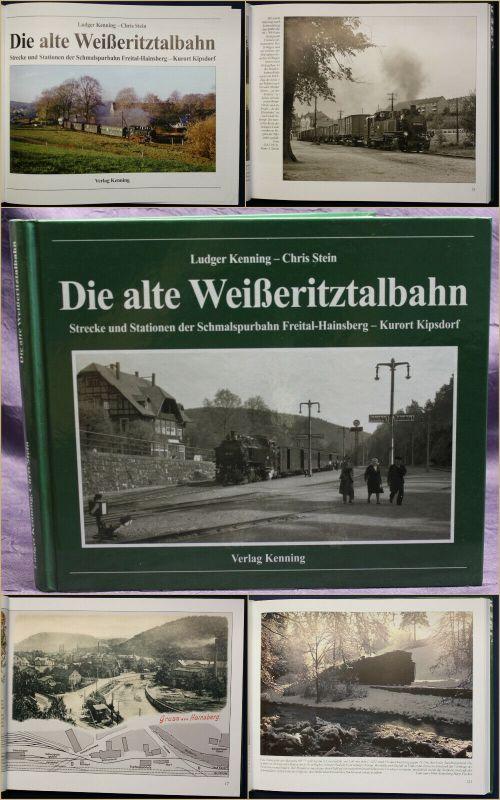 Kenning/ Stein Die alte Weißeritztalbahn 2014 Schmalspurbahn Sachsen Freital sf