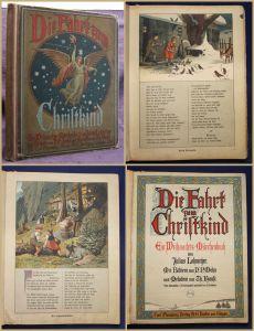 Lohmeyer Die Fahrt zum Christkind Ein Weihnachts-Märchenbuch 1998 Kinder sf