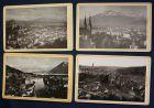 5 Orig. CDV's von Schweiz Nr. 3066,3402,3441,3601,3637 Römmler & Jonas 1890 sf