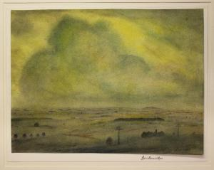 Lewinger, Ernst - Aquarell starkem Papier