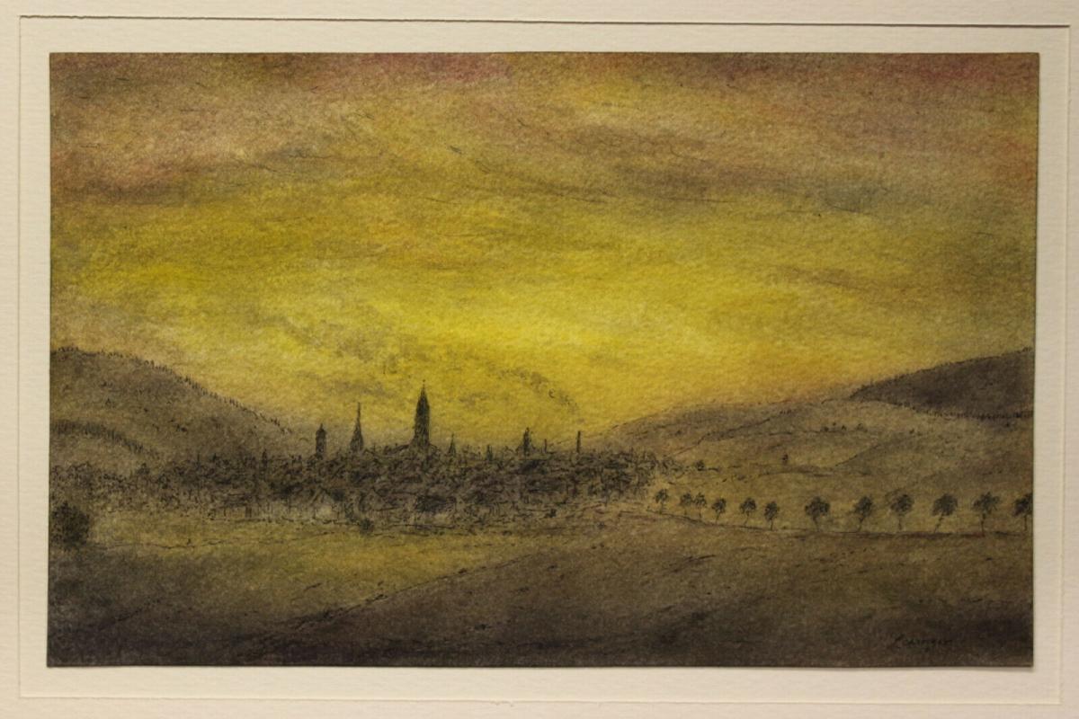 Lewinger, Ernst - Aquarell