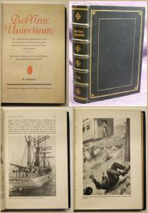 Das neue Universum 51. Jhg. 1920 Erfindungen Geschichte Abenteuer Erzählungen sf