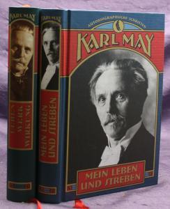 Karl May Mein Leben und Sterben 2 Bde 1996 Weltbild Western Erzählungen sf