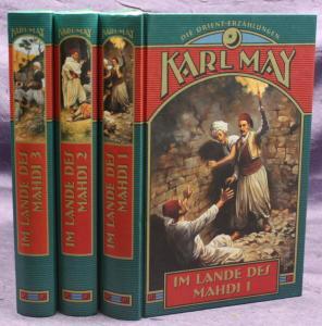 Karl May Im Lande des Mahdi 3 Bde 2003 Weltbild Western Abenteuer Erzählungen sf
