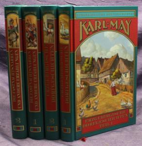 Karl May Humoreske/ Erzg. Dorfge. 4 Bde 2003 Weltbild Western Erzählungen sf
