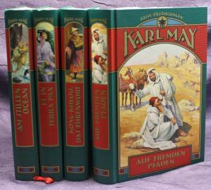 Karl May Reise-Erzählungen 4 Bde 2003 Weltbild Western Erzählungen sf