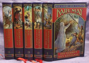 Karl May Die Liebe des Ulanen 5 Bde 2003 Weltbild Western Erzählungen sf