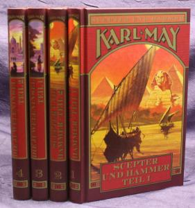 Karl May Juweleninsel & Scepter 4 Bde 2003 Weltbild Western Erzählungen sf