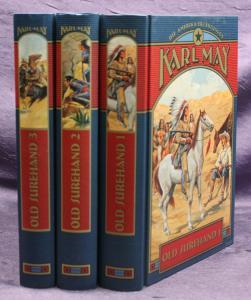 Karl May Old Surehand 3 Bde 2003 Weltbild Western Klassiker Erzählungen sf