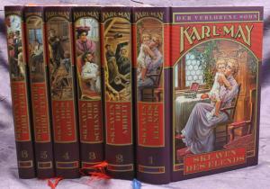 Karl May Der verlorene Sohn 6 Bde 1999 Weltbild Western Abenteuer Literatur sf