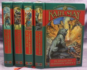 Karl May Die Orient-Erzählungen 4 Bde 2004 Weltbild Western Abenteuer  sf