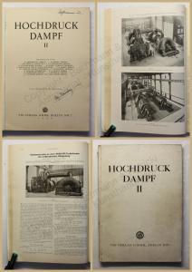 Abendroth Hochdruckdampf II 1929 Technik Handwerk Geschichte Entwicklung xy