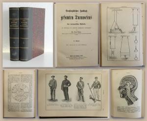 Guler Encyklopädisches Handbuch des gesamten Turnwesens Bd 2+3 1895 Sport Spiele