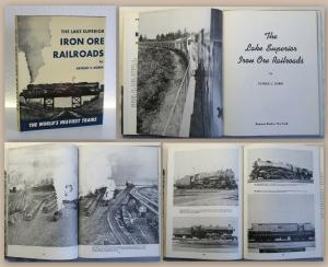 Dorin The Lake Superior Iron Ore Railroads 1969 Eisenbahn Lokomotiven xz