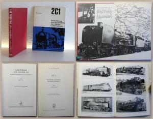 2 Bde Pazifik-Lokomotiven 1964 & 1968 Geschichte 2C1 Pazifik 231 Eisenbahn xz