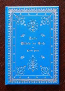 Falke Kaiser Wilhelm der Große Festschrift hundertjähriger Geburtstage EA um1897
