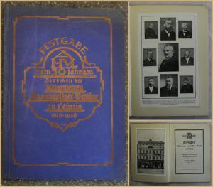 Kahnt Festschrift 50 Jahre Allgemeiner Hausbesitzer-Verein zu Leipzig 1928 xy