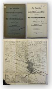 Jordan Zur Geschichte der Stadt Mühlhausen 1908 Thüringen Ortskunde Geografie xy