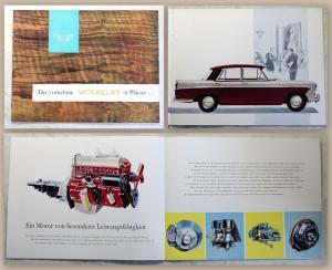 Werbeprospekt Broschüre Wolseley 6-99 6-Plätzer Automobil Oldtimer um 1960 xz