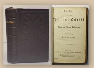 Luthers die Bibel oder die gabze Heilige Schrift 1884 Religion Geschichte xy