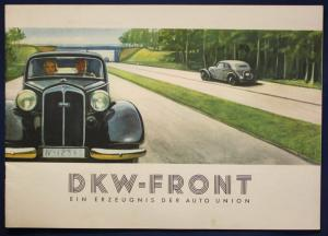 Original Broschüre der Auto Union DKW - Front um 1935 Automobilia Geschichte sf