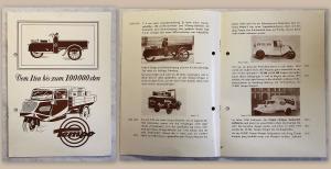 Alter Werbeprospekt Vidal & Sohn Tempo-Eilwagen Lastkraftwagen 1950 illustriert