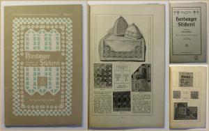 Niedner Hardanger Stickerei 1917 Technik Handwerk Geschichte Anleitung xy
