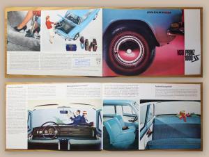 Orig. Werbeprospekt Broschüre NSU Prinz 1000 um 1960 Automobil Auto Union Audi
