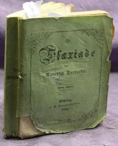 Dreyzehn Die Flaxiade Ein Grotesk-Komisches Heldengedicht 3 Teile 1850 sf