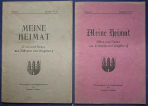 2x Meine Heimat Altes & Neues aus Zschopau & Umgebung Nr 4 & 5 1916-1918 sf