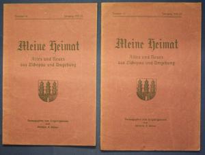 2x Meine Heimat Altes & Neues aus Zschopau & Umgebung Nr.15,16 1919/20 sf