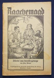Wenzel Raachemaad Allerlei aus dem Erzgebirge 1932 Erzählungen Geschichten sf