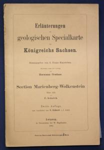 Erläuterungen geolog. Spezialkarte Sachsen