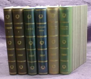 Konvolut Aufbau - Verlag 6 Bde um 1960 Belletristik Klassiker Weltliteratur sf
