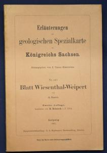 Erläuterungen geolog. Spezialkarte Sachsen Nr. 147