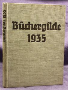 Die Büchergilde Jahrgang 1935 Zeitschrift Geschichte Gesellschaft Politik sf