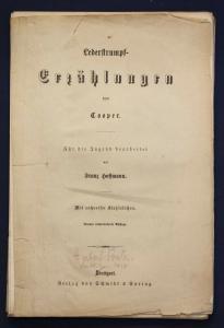 Hoffmann 16 Stahlstiche zu Lederstrumpf - Erzählungen von Cooper 1938 sf