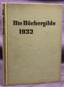 Die Büchergilde Jahrgang 1932 Zeitschrift Geschichte Gesellschaft Politik sf