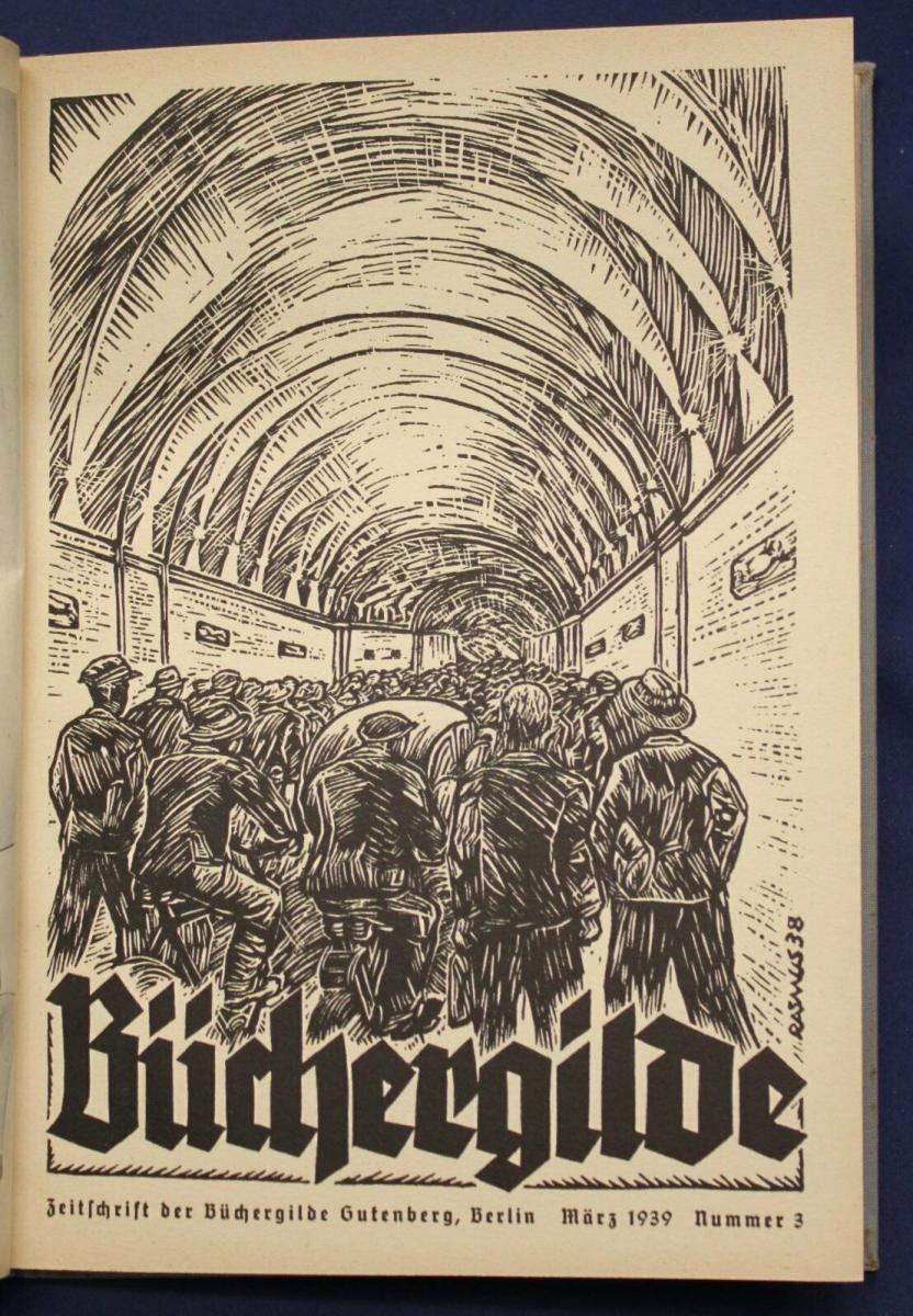 Die Büchergilde Jahrgang 1939 Zeitschrift Geschichte Gesellschaft Politik sf 2