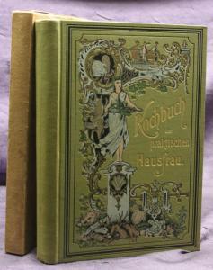 Koch-Buch der praktischen Hausfrau um 1890 Kochbuch Rezepte Kochen Backen sf