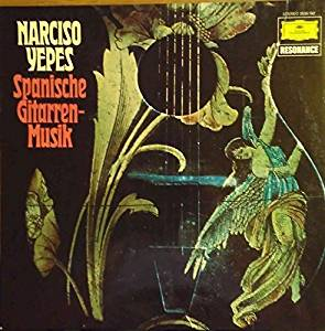 Spanische Gitarrenmusik : Narciso Yepes   LP 1976