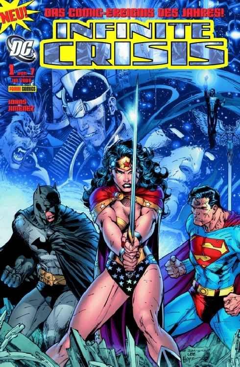 INFINITE CRISIS 1 (VON 7) Panini Comics