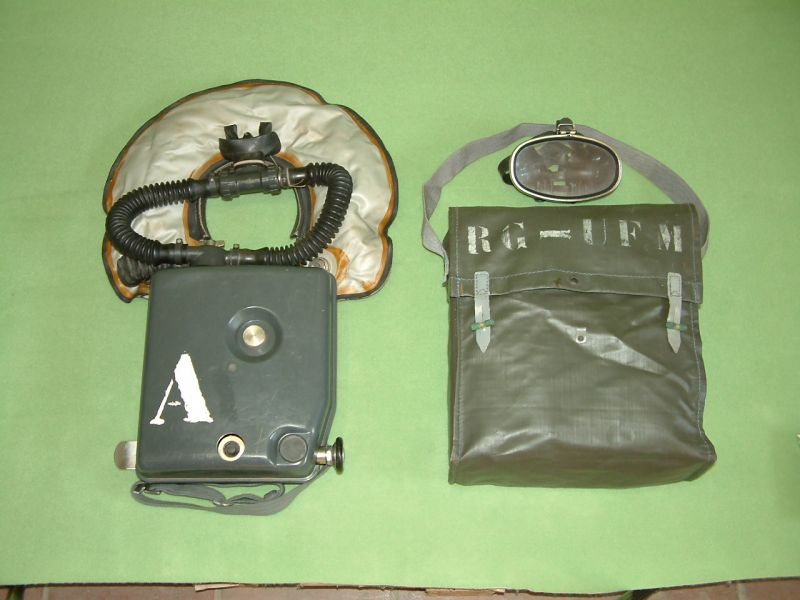 Sauerstoff-Kreislauftauchgerät  MEDI RG-UF/M  Ausführung Modell 62015
