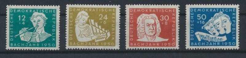 1950 - DDR - Mi Nr. 256-259 - 200. Todestag von Johann Sebastian Bach - Satz **