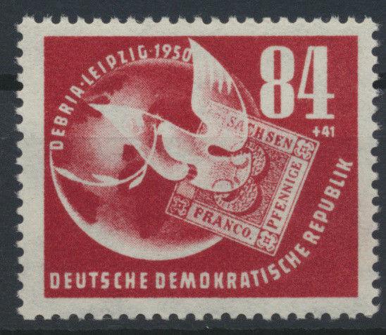 1950 - DDR - Mi Nr. 260 - DEBRIA 1950 - Deutsche Briefmarkenausstellung **