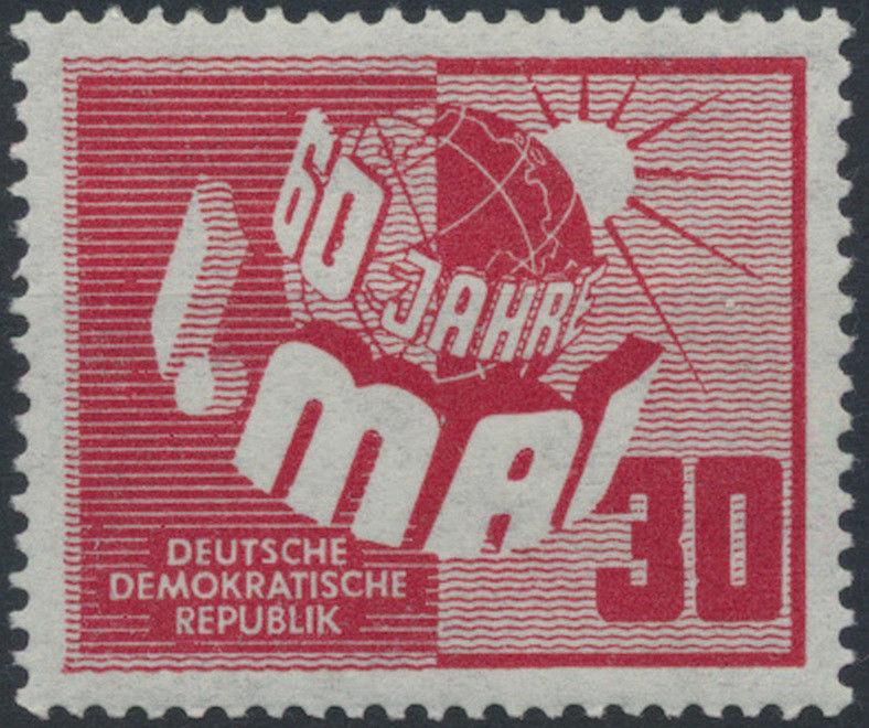 1950 - DDR - Mi Nr. 250 - 60 Jahre Tag der Arbeit 1. Mai - Postfrisch **