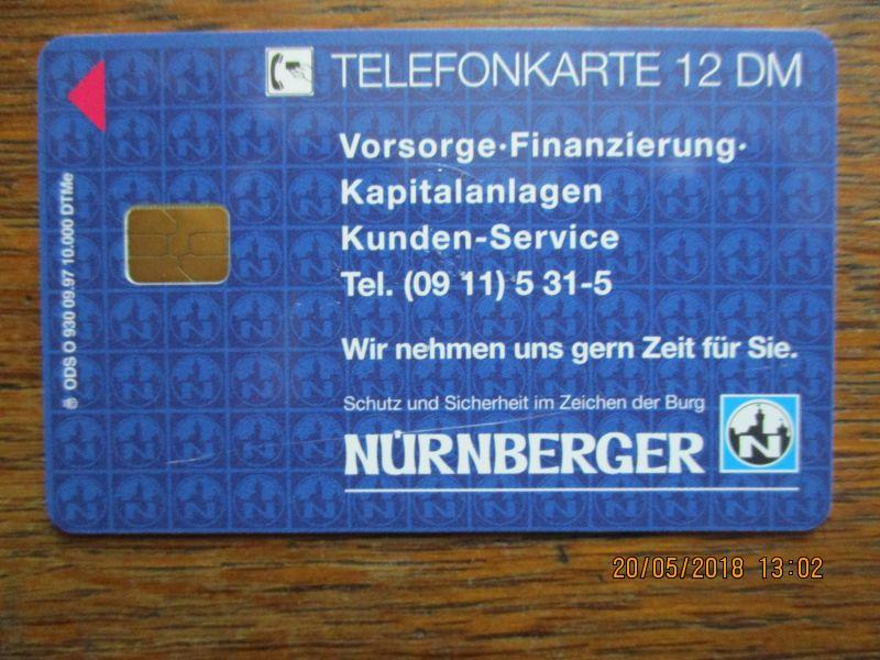 Telefonkarten,limitierte Auflage,mit 12 DM,aufgeladen unbenutzt