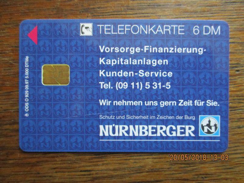 Telefonkarten zum Sammeln,limitierte auflage,neu mit 6 DM guthaben