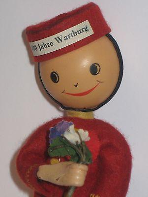 DDR Werbefigur 900 Jahre Warturg ca. 16cm von ca. 1967 2