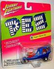 JOHNNY LIGHTNING Pez - Topper Movin' Van Spielzeugauto 7,5 cm OVP /K11